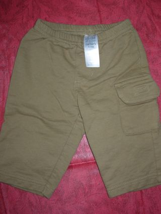 Boys sz. 0-3 month Child of Mine by carters dark tan pants