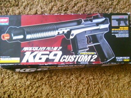 Free: KG9 Custom2 Airsoft Gun: Academy Hobby Model Kit