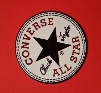 59655f0403fa FREE  Glossy ☆CHUCK TAYLOR CONVERSE ALL STAR ☆ Sticker • Shipping FAST FREE