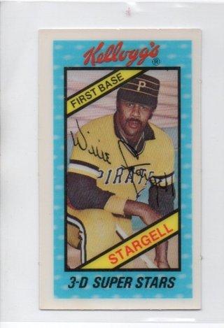 1980 Kelloggs Willie Stargell