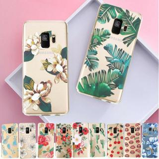 Pattern Rubber Soft TPU Silicone Phone Case Cover For Samsung Galaxy S8 S7 S9 +