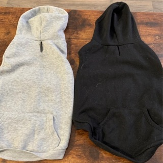 Doggy hoodies