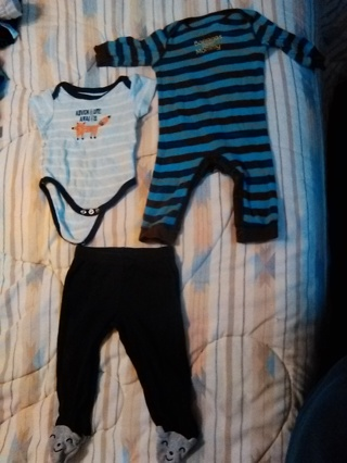 3-6 MONTHS BABY BOYS CLOTHES -- GREAT CONDITION!!