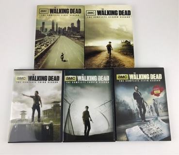 ✯The Walking Dead Seasons 1 2 3 4 5 DVD Sets ~ FREE SHIPPING✯