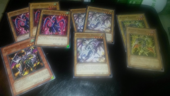 Yugioh Dragons deck core lot collection