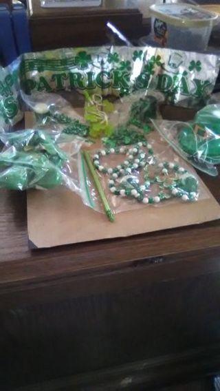 St. Patrick's Day Favours