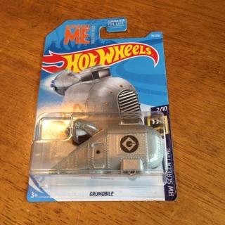 Hot Wheels - Grumobile (Despicable Me - Minion Made)