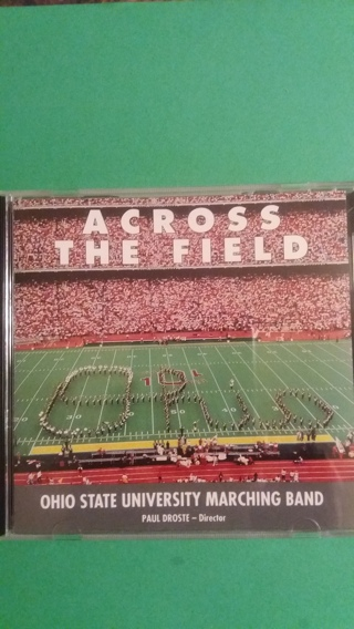 cd  across the field    free shipping