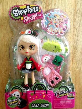Sara Sushi Shopkins Shoppie Doll (HTF)