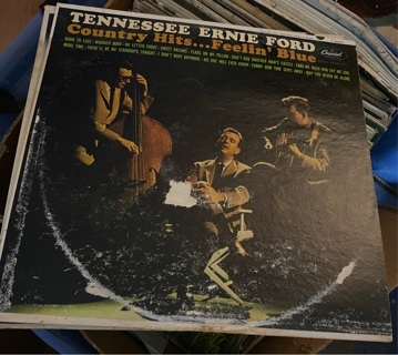 Tennessee Ernie Ford LPs Lot of 3 preowned