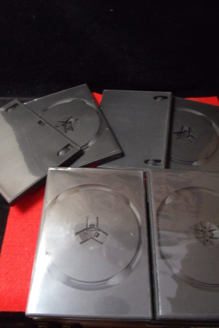 PRIORITY BOX OF 12 BLANK CD OR DVD OR GAME DISC CASES