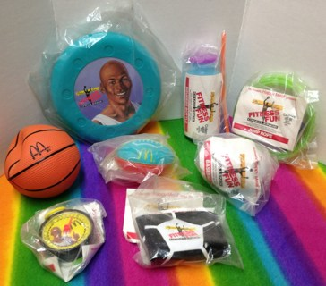 Free A49 1992 Mcdonalds Michael Jordan Fitness Fun Challenge Happy Meal Toys Other Toys Hobbies Listia Com Auctions For Free Stuff