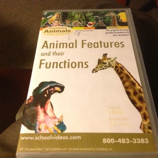 UNDERSTANDING ANIMALS VIDEO COLLECTION- ANIMAL FEATURES AND THEIR FUNCTIONS