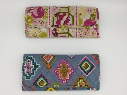 Make Me Blush Or Painted Medallions Wallet by Vera Bradley!