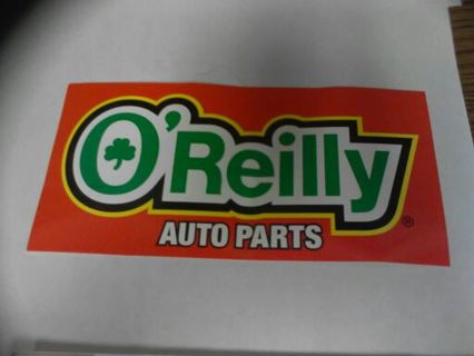 Free oreilly auto parts decal sticker