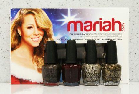 Mariah Carey mini nail set