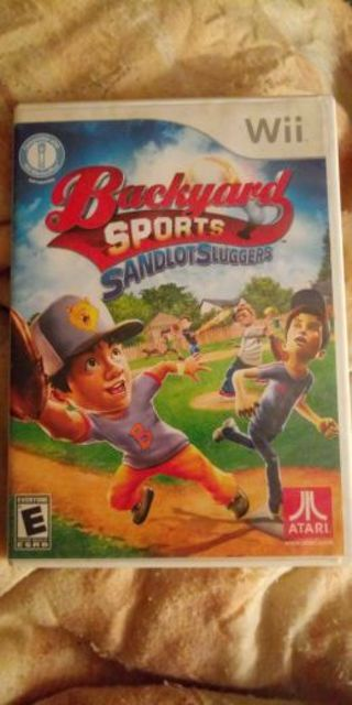 Backyard sports sandlot sluggers nintendo wii or wii u game
