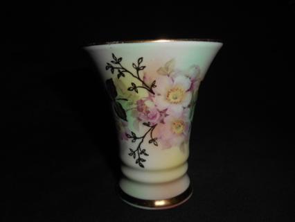 "Schumann Bavaria Arzberg Germany ""Wild Rose"" Vase"
