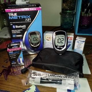 Glucose Meter, lancets, test strips ALL NIP