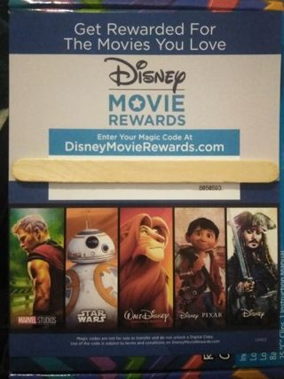Disney Movie Rewards Code