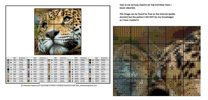 Wild Cats Cross Stitch Patterns ***WINNERS CHOICE***
