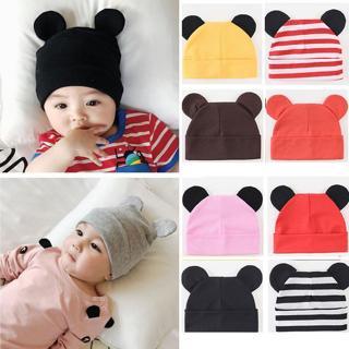 Newborn Hat, Baby Infant Mickey Ears Hats, Cute Double Warm Caps For Boys Girls ZJS0004