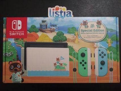 Nintendo - Switch - Animal Crossing: New Horizons Edition 32GB Console
