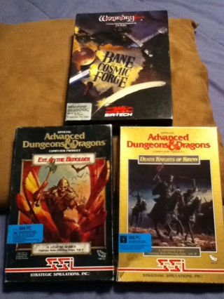 Free: Classic Dungeons and Dragons Games on Floppy Disk
