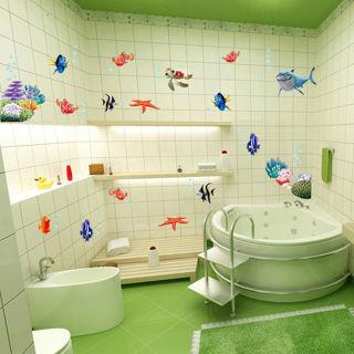 Colorful Fish Shark Nemo Ocean Wall Stickers Vinyl Decal Mural Kid's Room Decor