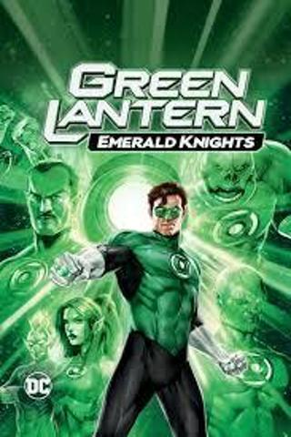 Green Lantern Emerald Knights/ Green Lantern (2011) Combo: Digital Code for Two Flims