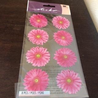 Sticko daisy stickers