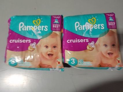Brand New Pampers Cruisers