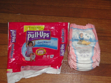 Free: Huggies Disney Princess Pull-Ups for Toddler Girls ...