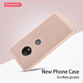 Dreamysow Heat Dissipation Case Cover For Moto G5 Plus G5plus X5 E4 Plus Z2 Play G4 Play Mesh Case