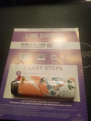 Lone survivor digital copy