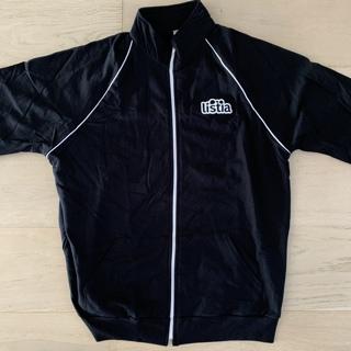 Listia American Apparel Black Track Jacket L