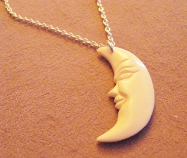 Free Awesome Carved Bone Crescent Moon Necklace Other Jewelry Watch Items Listia Com Auctions For Free Stuff