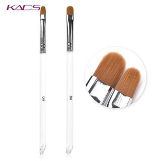 KADS Nail Art Brush Round Head UV Gel Nail Art Tips Extension Transparent Pen Professional Paintin