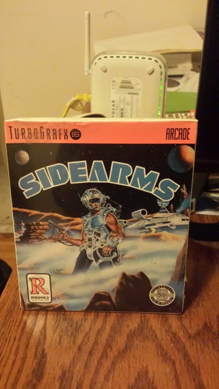 Sidearms (Turbografx-16) Brand New Factory Sealed