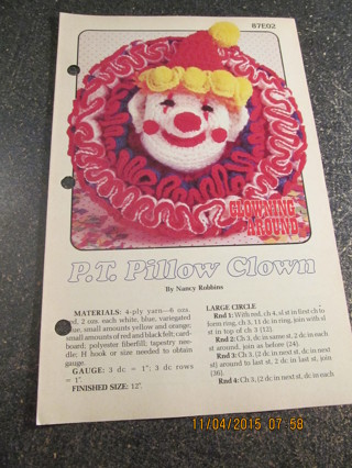 P.T. Pillow Clown