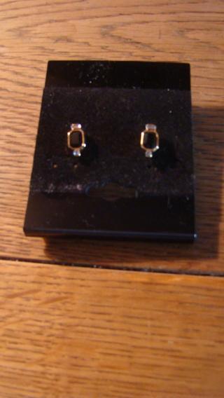 Beautiful black onyx earrings