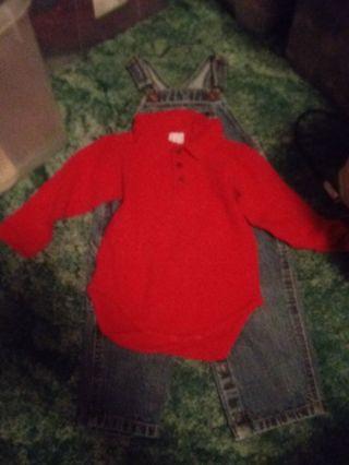 18/24m Baby Gap Onesie Shirt