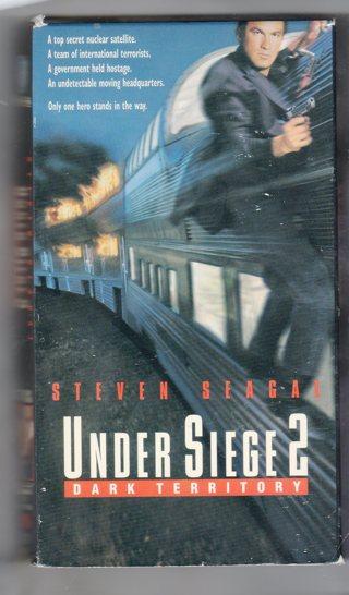 VHS - Under Siege 2 Dark Territory