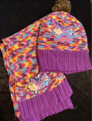 My Little Pony Scarf & Hat Set