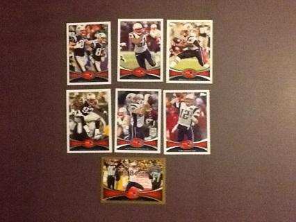 2012 Topps New England Patriots Lot