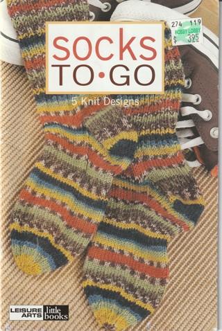 Knitting Pattern Magazine: Socks to go