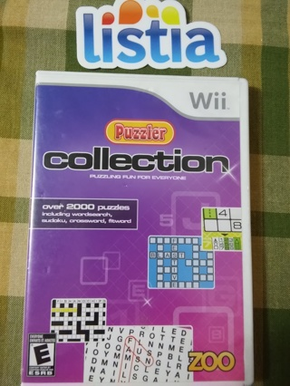 Puzzler Collection Wii game~~Perfect Condition ~~