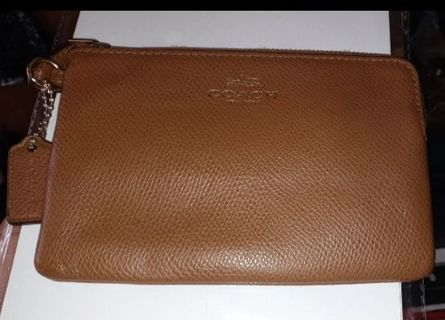 AUTHENTIC Coach Leather Purse Wallet 5x8 inches