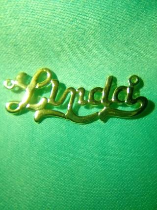 Linda name Pendant
