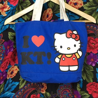 1 Cute hello kitty bag purse sac tote shoulder carry on sanrio FREE SHIPPING